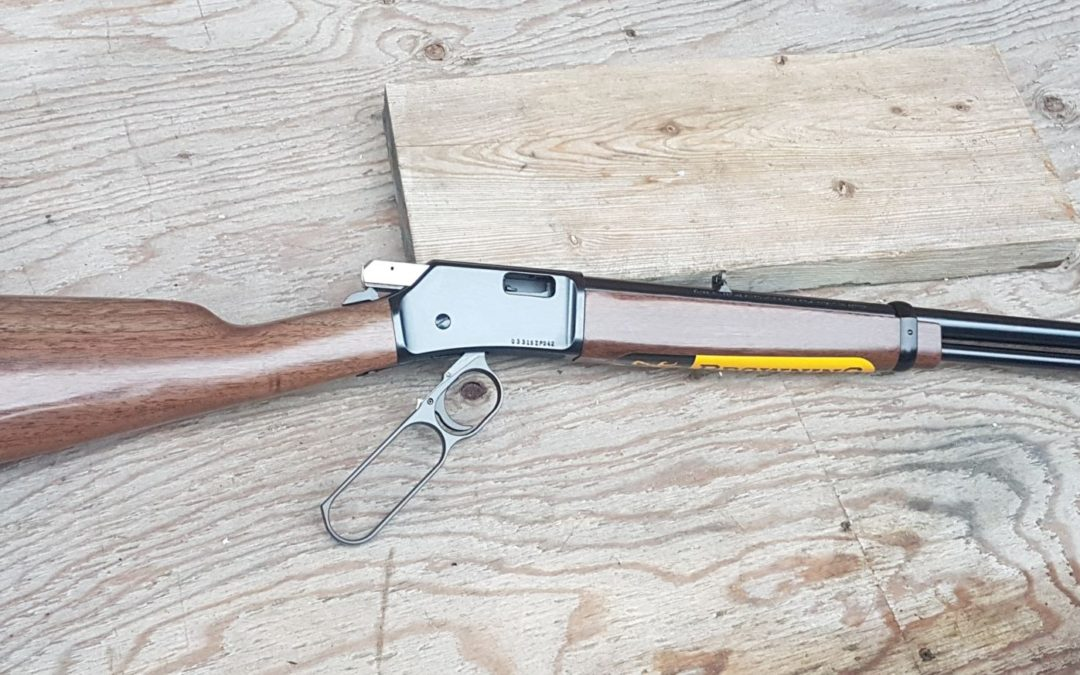 A classic one out of the Browning Stall…Browning BL22 Grade 1, .22LR.,20″ BBL $ 720.99
