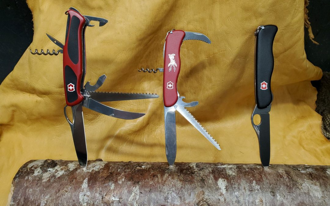 Victorinox – The classic Swiss Knife's are now in Stock again. 18 different models are available. Hunting,Fishing or Classic …it's your pick.